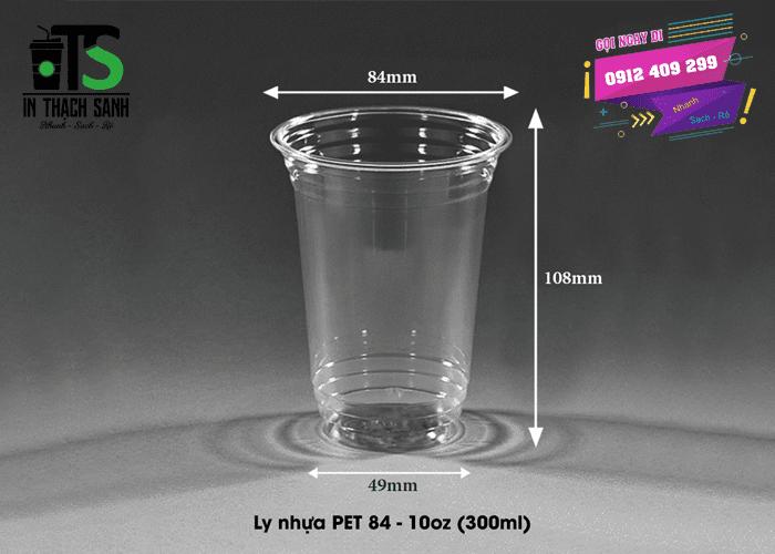 Ly nhựa PET 300ml