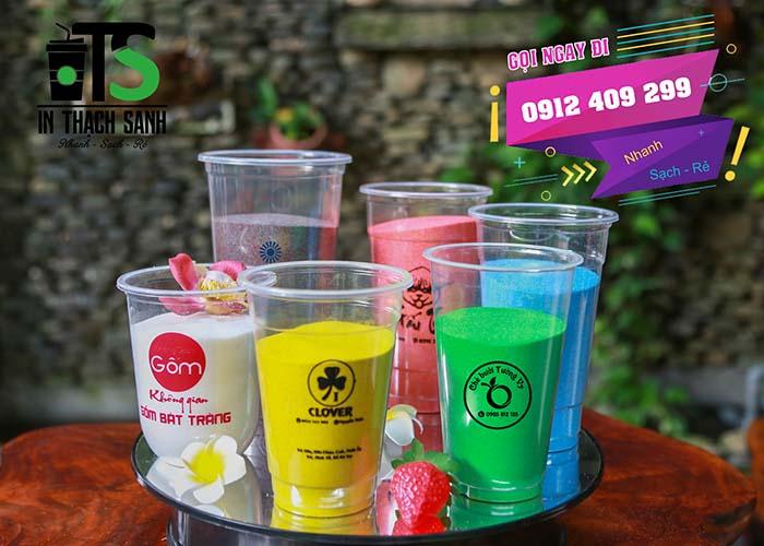 Cơ sở in ly nhựa TpHCM giá rẻ